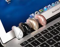 unsichtbarer drahtloser kopfhörerkopfhörer großhandel-S750 Bluetooth Kopfhörer Wireless Kopfhörer im Ohr Mini Mono Ohrhörer Single Versteckte Business-Hörmuschel Invisible EarPhones mit opp Pack 2019