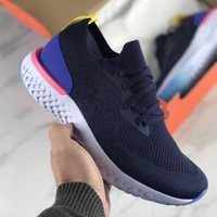 3ba356642ba6 2018 Top Epic React Instant Go Fly Breathable Mens Women Running Shoes  Athletic Mesh Casual Sports White Black Sneakers 36-45
