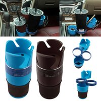Wholesale sunglasses mobile - New Arrival Multifunction Cup Holder Rotatable Convient Design Mobile Phone Drink Sunglasses Holder Drink Holder Car Accessories