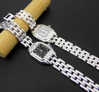 Wholesale Wristwatch Automatic Vintage - luxury watch designer simple vintage 925 sterling silver wristwatches Black and white dial automatic women watches quartz brand (detachable)