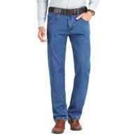мужская толстовка оптовых-New Skinny Jeans Men Business Coon Spring Autumn Classic Brand Straight Slim Fit Denim Pants For Male Casual Overalls Mens