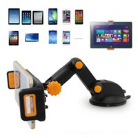 универсальная подставка оптовых-360 Degree Tablet car holder Foldable Dashboard Suction Universal Car Holder Mount Stand For Phone Tablet GPS