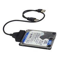 yarıiletken sürücüler toptan satış-USB 2.0 sata YENI USB 2.0 SATA 22Pin Kablosu 2.5 inç HDD Sabit Disk için Katı Hal Sürücü stokta!