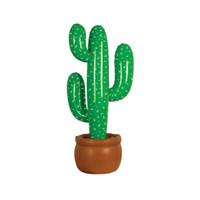 bola de pescado inflable al por mayor-50 unids Inflable Cactus Salvaje Oeste Mexicano Hawaiian Decoración de Fiesta Plantas Tropicales Etapa Fiesta Decoración de Playa 95 cm