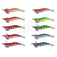 Wholesale shrimp bait - 10pcs set Fishing Shrimp Artificial Baits for Squid Jigs Octopus Cuttlefish Hard Pesca12 Cm Fishing Tackle Pesca