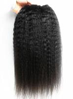 ingrosso estensioni remy naturali dei capelli umani-