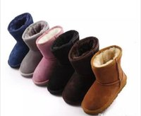 boy boots sale NZ - Hot SALE New Real Australia 528 High-quality Kid Boys girls children baby warm snow boots Teenage Students Snow Winter boots Free shipping