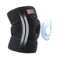 Wholesale Neoprene Knee - Spuitom Neoprene Knee Brace for Arthritis, ACL, LCL, Sports Exercise,Support Protector with Adjustable Strapping Open Patella Protector Wrap