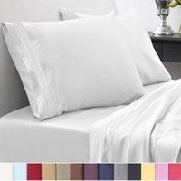 3d bedding set al por mayor-12 colores Egyptian 1800 Count Twin ~ Califonia King Size Juegos de cama Sábanas de cama profunda Juegos de cama Queen Juegos de edredón King Size