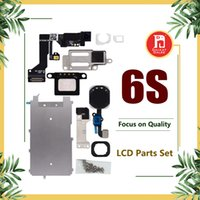 Wholesale Display Brackets - For iphone 6s full set lcd parts Metal Bracket Home Button Flex Front Camera Earpiece Screws Display Touch Screen Digitizer Complete Parts