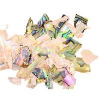 ingrosso migliori pezzi di decorazione-OutTop nuovo design Abalone Shell Piece 3D Charm Nail Art Decorazione Fetta DIY Beauty Nail decalcomanie best seller # 30