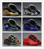 Wholesale Cheap Winter Boots Online - Cheap On Sale Basketball Shoes Men High Cut Mens Designs Trainers designer Penny Hardaway Red Suede Volt White Black Sneakers Online