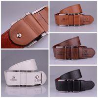 Wholesale Wholesale Women Leather Suits - Casual Fashion Leather Men Belts For Suit Decor Popular Luxury Design Pin Buckle Waist Belt Sturdy Straps New Style 7 9hy Z