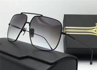 Wholesale Child Flights - 2018 AAAAA Fashion Brand Luxury Classic Style Sunglasses Best Quality Metal Men and Women Design FLIGHT 005