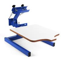 Wholesale T Shirts Screen Printing Machine - Brandnew 1 Color 1 Station Silk Screen Printing Machine 1-1 Press DIY T-Shirt Printing