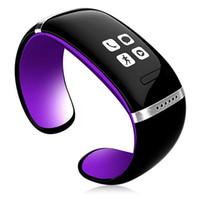 l12s запястье оптовых-L12S OLED Bluetooth браслет наручные часы смарт-часы для IOS iPhone Samsung Android телефонный звонок ответ / SMS напомнить