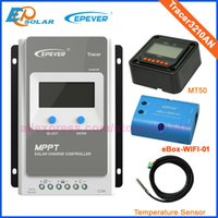 Wholesale tracer controller for sale - Group buy EPsolar A V V MPPT Solar Panel Battery Regulator Charge Controller with MT50 USB and wifi function Tracer AN