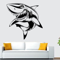 x5 Hammerhead Shark Wall Art Sticker Large Vinyl Transfer Graphic Decal Decor UK