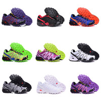 Wholesale outdoor lighted cross - Salo Speed Cross 3 CS III Outdoor Women Camo Red Black Sports Shoes mens Speed Crosspeed 3 running shoes eur 39-41 14 colo