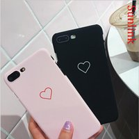 Wholesale Iphone 5s Mobile Case - phone accessory cute heart love mobile case small gift for iphone X 8 8p 7 7p 6 6p 5s se multi colors