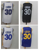 Wholesale white fans - 30 Stephen Curry Men's Basketball Jerseys 2018 New season Fashion Fan version Men Sport Jersey Size S-XXL