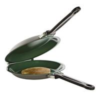 Wholesale pancakes pan resale online - Flip Jack Pan Ceramic Pancake Maker Big Size Fry Cake Pan Non stick Fryer Cakeware Double Sided Frying Pan