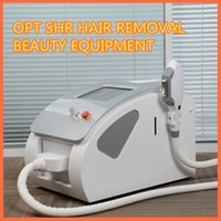 Wholesale Face Shot - Hot selling permanent hair removal beauty equipment with one handle 300,000 shot portable shr ipl elight sap use