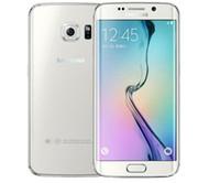 kilitli samsung galaxy s6 toptan satış-Samsung Galaxy S6 / S6 kenar Orijinal Unlocked 4G GSM Android Cep Telefonu G925F Octa Çekirdek 5.1