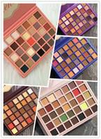 makyaj paleti karışımı toptan satış-Yeni makyaj Paleti Güzellik 35 renkler Göz farı Olivia / Valentina / Emma / Jasmin karışık Stilleri Paleti Yüksek kalite DHL kargo