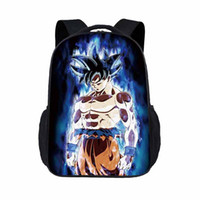 Wholesale beads school bags resale online - New Fashion Children s Cartoon Bag Seven Dragon Beads Series Printing Cool Personality Primary School Bag Kindergarten Backpack
