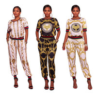 Wholesale Womens Floral Print Pants - Womens SUIT XL Standard Code for digital printing hot sexy fabulous fashion sportswear two piece