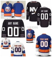 Wholesale ch jerseys resale online - Factory Outlet Men s Custom New York Islanders Alternate Jersey Black Customized authentic NY Islanders Hockey jerseys Personalized Ch
