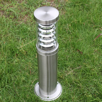 Wholesale column outdoor lights buy cheap column outdoor lights column outdoor lights outdoor pole rod bollard light column post lamp led modern stainless steel aloadofball Choice Image