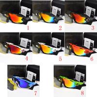 radsport-gläser großhandel-2018 polarisierte Marke Radfahren Sonnenbrillen Racing Sport Radfahren Brille Mountainbike Brille Austauschbar 5 Objektiv 29g 9270 Radfahren Brillen