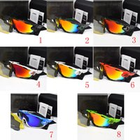 Wholesale cycling sunglasses interchangeable lenses resale online - 2018 Polarized Brand Cycling Sunglasses Racing Sport Cycling Glasses Mountain Bike Goggles Interchangeable Lens g Cycling Eyewear