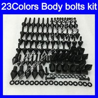 Wholesale triumph 675 blue white fairing resale online - Fairing bolts full screw kit For Triumph Daytona Body Nuts screws nut bolt kit Colors