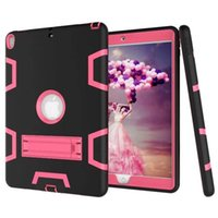 Wholesale full leather armor for sale – best Heavy Duty Shockproof Armor Case for Apple iPad Min Air Pro Hard Hybrid High Impact Defender Full Body Protective Cover