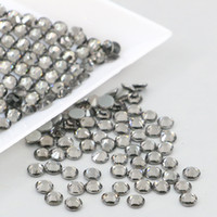 Wholesale Blue Diamonds Music - 1440PCS Crystal Austrian HOTFIX Rhinestone Flat Backs Rhinestones SS6,SS8,SS10,SS16,SS20 For DIY Garment (Black Diamond)