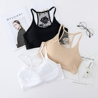 Wholesale Comfortable Ladies Underwear - The new seamless seamless ladies bra backless sexy girls' underwear The piece fashion and comfortable bra