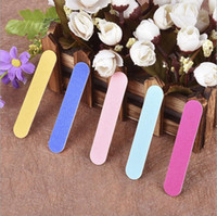 Wholesale paper grinding - sand paper Double side nail file Polished nails Manicure setback tool Manicure tool Nail file Polished Strip Grind Nail File KKA5002