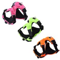 Wholesale Dog Pull Harness - No-Pull Padded Comfortable Outdoor Leash Pet Dog Harness Vest Clothes Multifunctional Use for Walking Running Outdoor Activities +NB