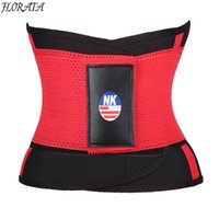 3f4bc10c20f FLORATA Men Waist Trainer and Trimmer Sweat Belt Workout Body Shaper  Slimming band for Figure Corset Binder Trans