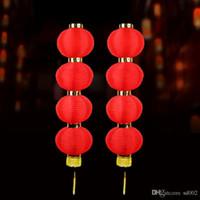 festival de artes do feriado venda por atacado-Rodada Lanternas Vermelhas Festival Da Primavera Lanterna Moda Artes E Ofícios Presente Prático Decorações Do Feriado Do Feriado Para Casa 8hh ZZ
