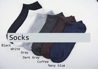 Wholesale slipper socks for sale - Mens Casual Active Socks Solid Color Breathable Socks Pairs Mens Sports Short Sock Slippers Socks Hosiery Mens Underwear Accessories