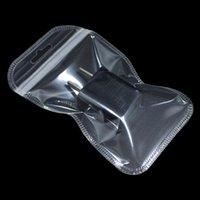 полиэтиленовый пакет для электронных оптовых-500 шт./лот 7*11 см прозрачный пластик Электроника Zip Lock пакет сумка с повесить отверстие Self Seal продуктовые магазины молния пакет сумки