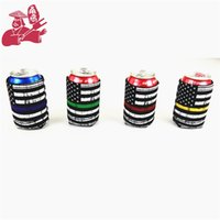 Wholesale cup materials online - Submersible Material Cans Cup Sleeve Neoprene Printing Cooler Cup Sleeve Bottle Holder Cool Can Holder Rectangle nya gg