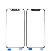 remplacement de couverture avant d'iphone achat en gros de-Nouveau remplacement de lentille d'écran tactile pour la couverture en verre externe d'affichage à cristaux liquides de panneau avant d'OEM pour l'iphone X 5.5inch
