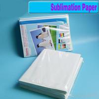 papier de transfert pour achat en gros de-100 feuilles A4 papier de transfert de chaleur de sublimation, papier 100gsm, utilisation dans les vêtements, T-shirt, tasse, oreiller etc.