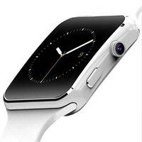 reloj smart оптовых-X6 смарт-часы мужчины Relojes SIM-карты relogio reloj inteligente носимого устройства Smartwatch для Android телефон падение корабль S