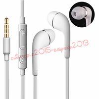 not 3 toptan satış-Kulak Stereo Kulaklık 3.5mm Kulaklıklar Kulaklık için Mic ve Uzaktan ile Samsung Galaxy S5 S4 Note3 not 4 siyah beyaz